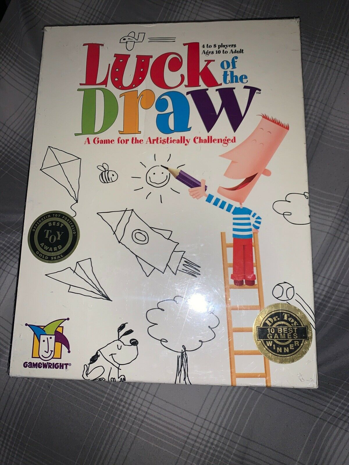 a Game for the Artistically Challenged Gamewright 7102 Luck of the Draw