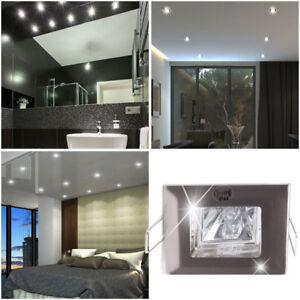 6x 12x 18x Einbau Strahler Badezimmer Spots Wohnraum Decken Lampen