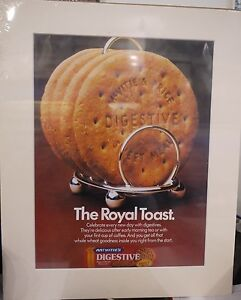 Original-1978-Vintage-Advert-mounted-ready-to-frame-McVities-Digestive-biscuits