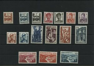 Germany-Saar-Saarland-vintage-yearset-1948-Mi-239-254-Mint-MNH-More-Shop