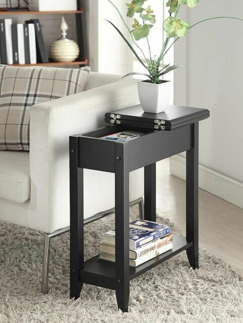 Small Round Side Table Furniture Living Room End Accent