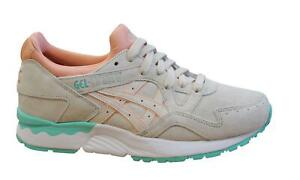 Details about Asics Gel-Lyte V Womens Trainers Beige Pink Lace Up Shoes  H6R9L 2121