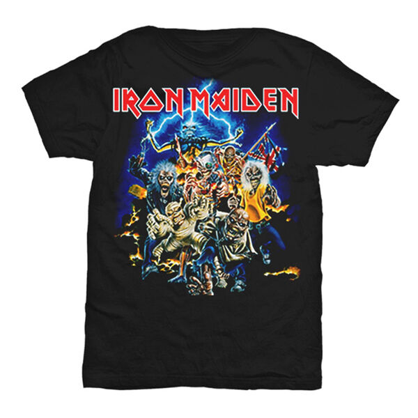 IRON MAIDEN Best Of The Beast New Authentic Metal T-Shirt S M L XL 2XL