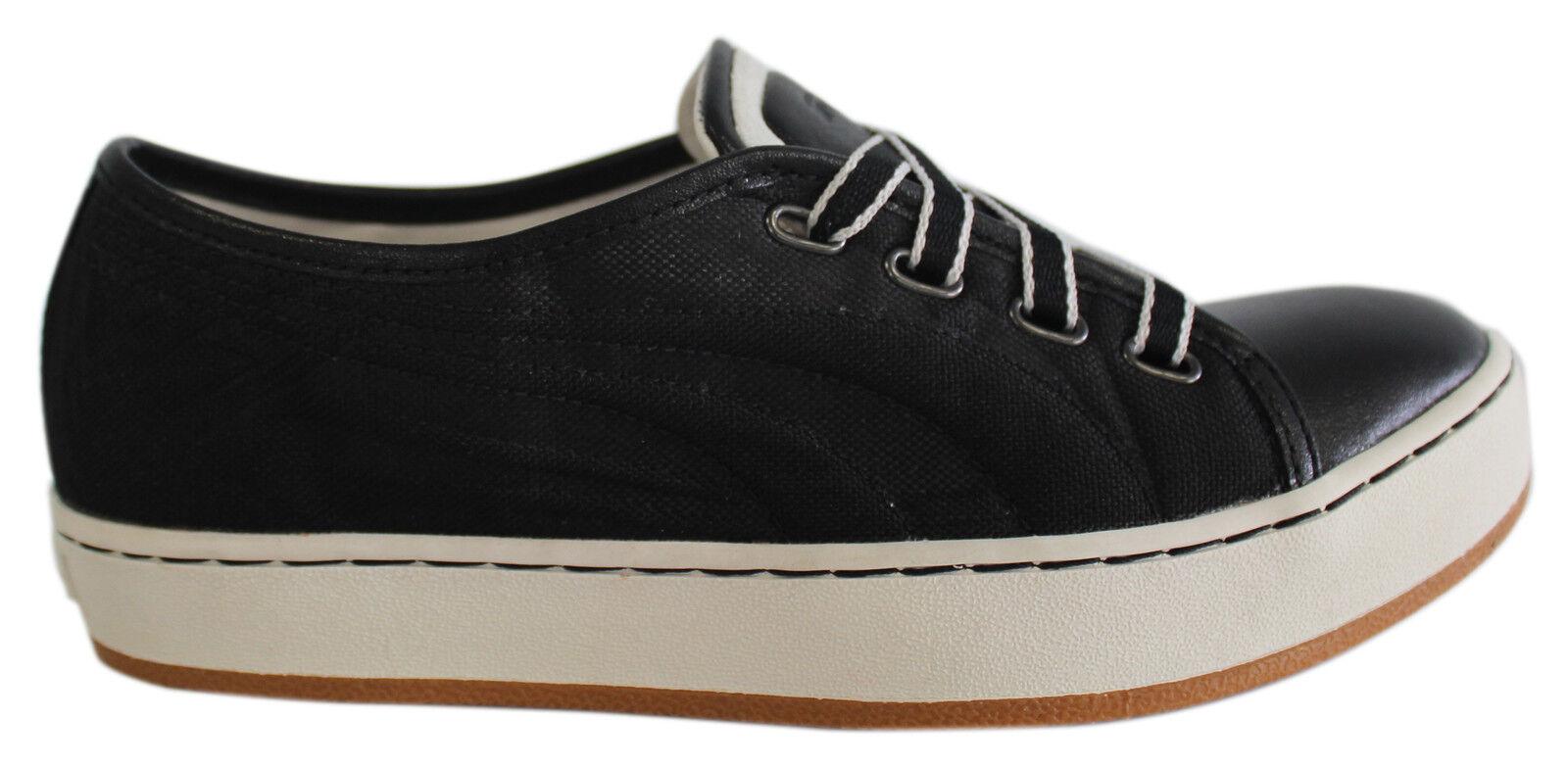 Zapatos promocionales para hombres y mujeres Puma Alexander McQueen AMQ Vulcanizo Mujer Zapatillas Cuero Negro 348293 03 D18