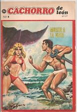 Cachorro de leon #8 1976  Color Mexico Spanish Lang FINE- /VG+