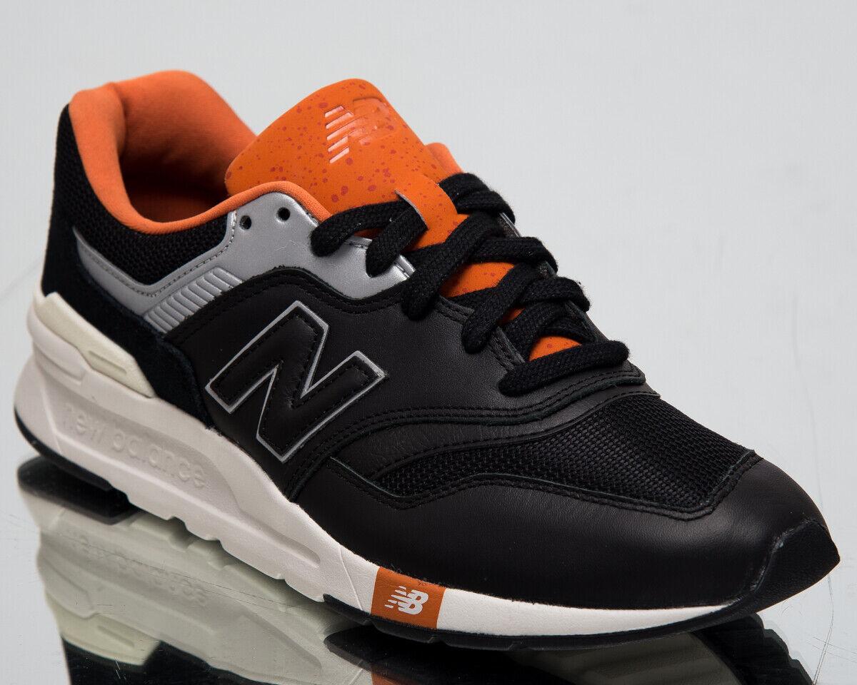 New Balance 997H Men's New Black orange Casual Lifestyle Sneakers CM997-HGB