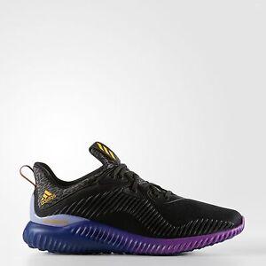 adidas le scarpe da corsa alphabounce palestra jogging nero / viola