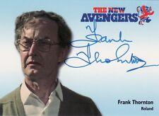 The New Avengers Frank Thornton as Roland NA11 Auto Card