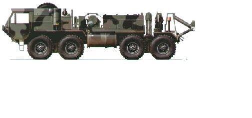 Camion de dépannage US. OSHKOSH M-984 - Kit résine PLANET MODELS 1 72 Ref. MV034