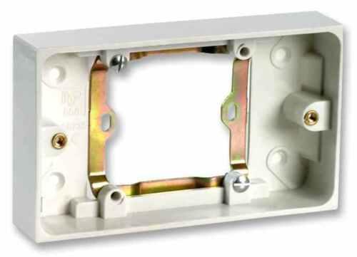 Unique à Double Prise Électrique 13 A prise convertisseur 13 A électrique UK Backbox