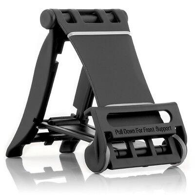 Mini Pieghevole Supporto Smartphone Cellulare Supporto Tablet Supporto Treppiede Nero-
