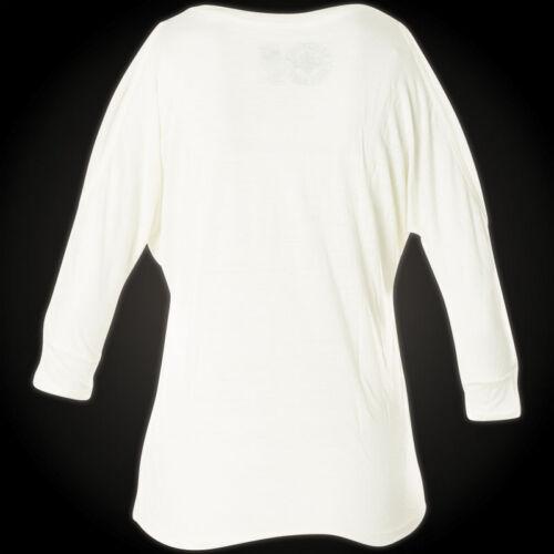 AFFLICTION Damen Pullover Starry Night Weiß