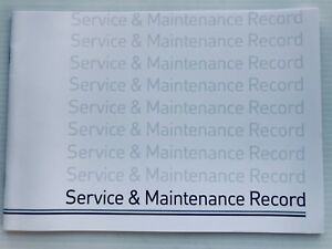 Free Postage ALFA ROMEO Service Book  New Unstamped History Maintenance Record