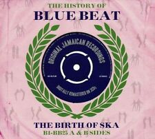 THE HISTORY OF BLUE BEAT THE BIRTH OF SKA B1 - BB25 A & B SIDES - 3 CD BOX SET