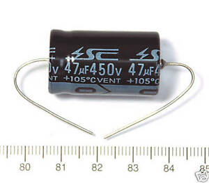 5pc Electrolytic Capacitor Gha Axial 2000hr 105℃ Rohs