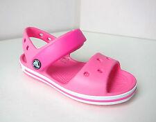 Crocs sandalen kids pink rosa J 1  30 31  crocband sandals sandal neon magenta