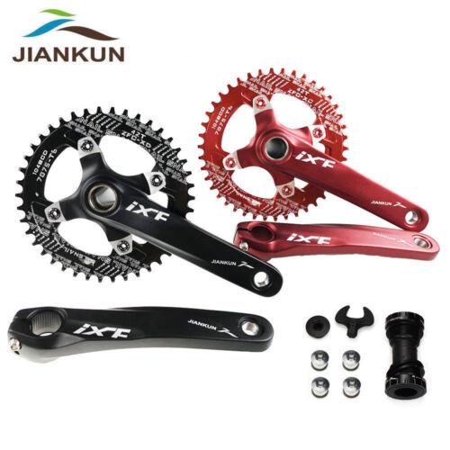 IXF 104BCD MTB Bike Crankset 170mm Crank Narrow Wide Chainring Bottom Bracket