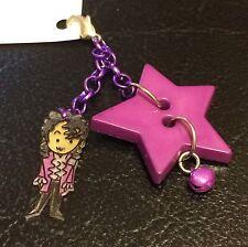 New Handmade Prince Purple Rain Handbag Charm 80s