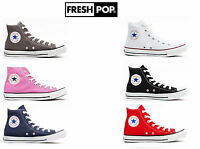 Original Converse All Star Unisex Hi Tops Kids Trainers/sneakers Uk Sizes 10-2
