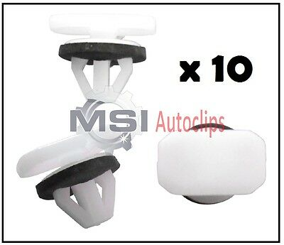 ALFA ROMEO Wheel Arch Plastic Trim Moulding Clips Retainer Front Wing Rear 10x