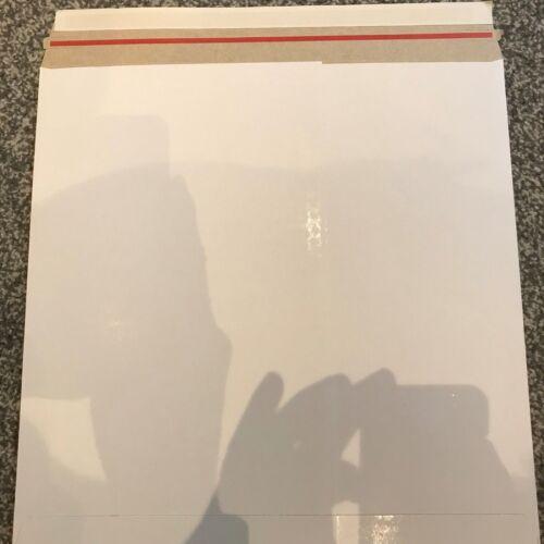 "50 x 12/"" LP nuovo Budget 490 MICRON BIANCO Peel /& Seal RECORD Mailer GRATIS 24H del"
