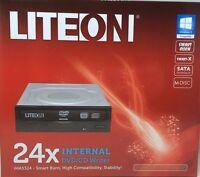 Lite-on - Ihas324-17 - 24x Sata Internal Dvd/rw Optical Drives - Black