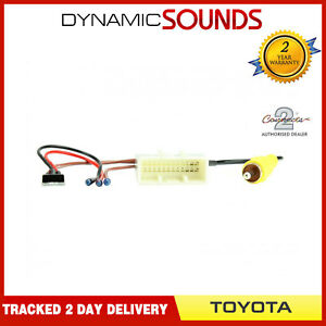 CAM-TY2-RT-Voiture-Usine-Camera-Retention-Interface-Cable-pour-Toyota-RAV4-2014