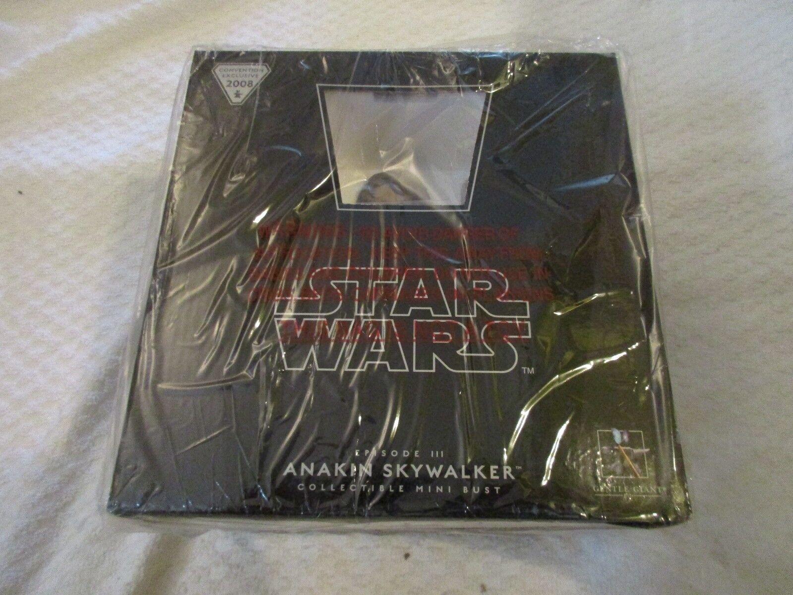 Gentle Giant Star Wars Episode III 3 Anakin Skywalker Mini Bust  2083 3500