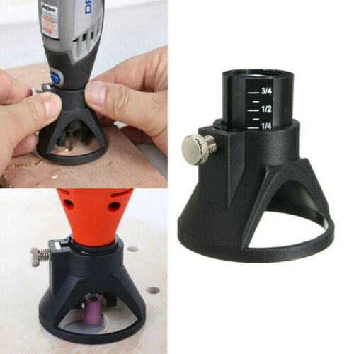 Dremel Rotary Drill Locator Tool Adapter Positioner Router Carving Accessories