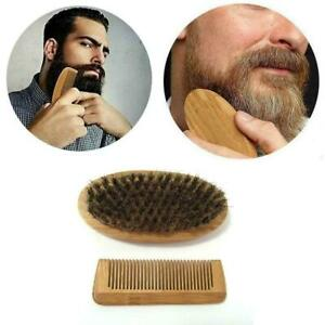 Beard-Grooming-amp-Trimming-Kit-For-Men-Care-Beard-Mustache-Gift-Brush-Comb-S7U2