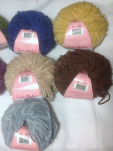Louisa-Harding-Nerissa-100-Cotton-Chenille-Yarn-Loom-Knit-Crochet-FS