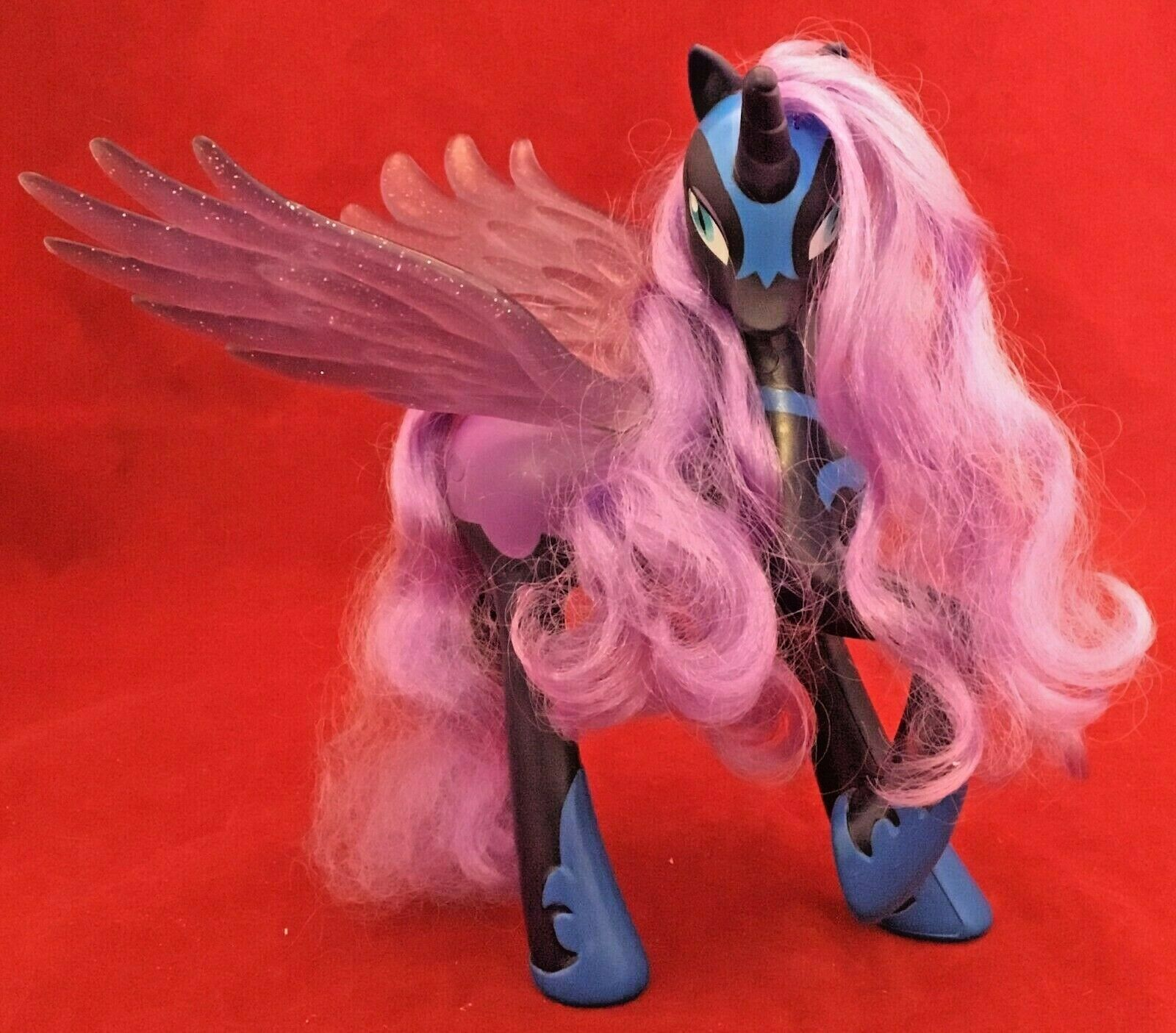 My Little Pony Nightmare Moon Light Up Wings Talking Toys R Us Exclusive Works