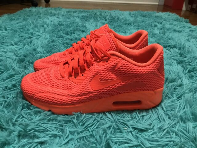 Size 10 - Nike Air Max 90 Ultra Breathe Total Crimson for sale ...