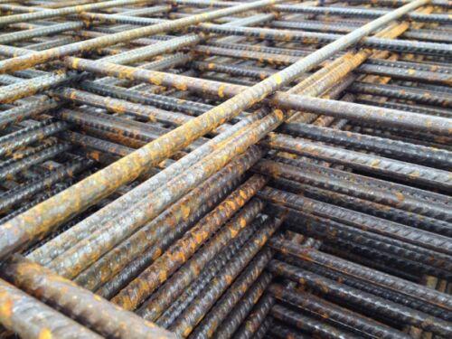 Concrete Reinforcement Steel Metal Fabric Mesh Mini 2.42m x 1.22m Min Order 3