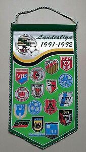 RAR-Wimpel-Landesliga-91-92-Sachsen-Anhalt-Fussball-HFC-Chemie-Bezirk-Magdeburg