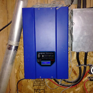 AIM-12KW-INVERTER-30Amp-charger-50-amp-transfer-switch-Runs-total-house-UPS
