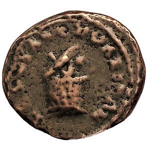 RARE-Ancient-Greek-Copper-Coin-Circa-450BC-100AD-Artifact-Old-Antiquity-B9