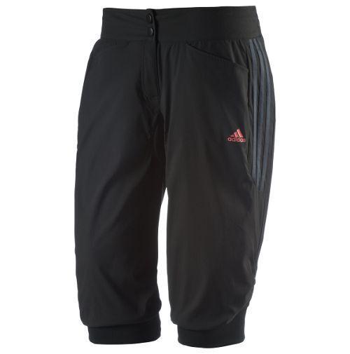 Pantalones cortos adidas Response Knickerbocker para mujer - XS - Negro