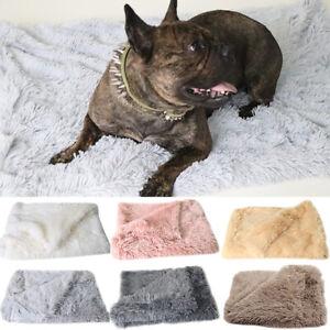 Winter-Warmer-Pet-Home-Blanket-Cat-Dog-Bed-Mattress-Kennel-Large-Soft-Crate-Mats