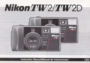 genuine original nikon camera manual tw2 tw2d ebay rh ebay co uk nikon camera manuals free download nikon camera manual pdf