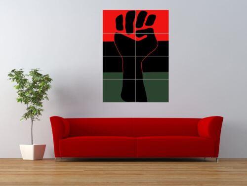 PROPAGANDA BLACK POWER AFRICAN AMERICAN GIANT ART PRINT PANEL POSTER NOR0257