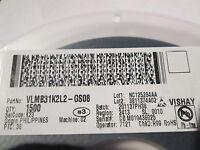 VISHAY, LED SMD,SMT,PLCC2,Blue,blau,466nm,10mA,18mcd,VLMB31K2L2 100 St= 11,58 €