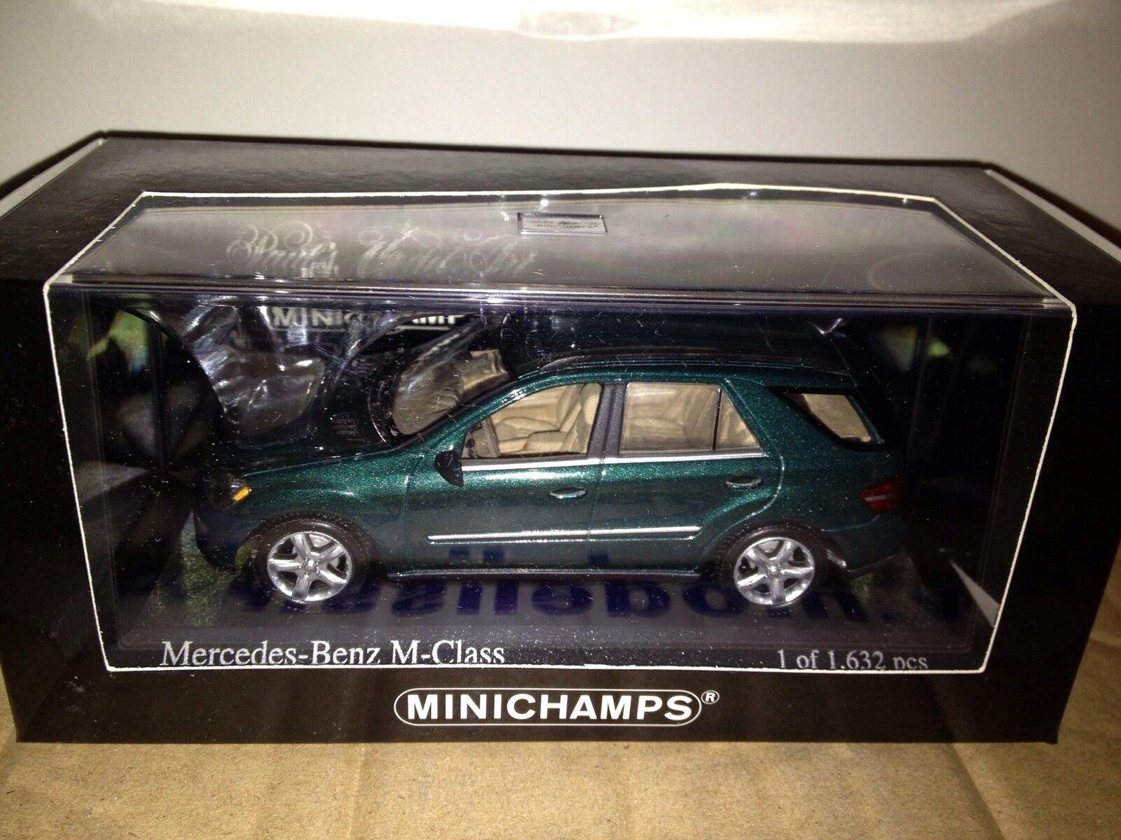 Mercedes ml 500 grünen minichamps 2005 1 43 (fast ausverkauft)