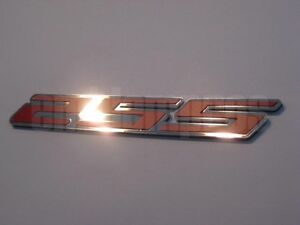 "Camaro /""RS/"" Emblem Badge w Choice of Color Composite 2010 GM LICENSED"