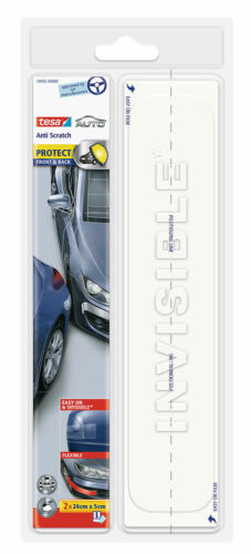 und Rückseite 2 x 24cm x 5cm transparent tesa® AUTO Anti Scratch Vorder