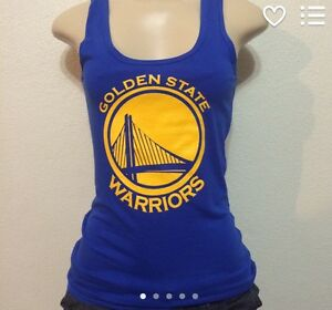 Image is loading Womens-Golden-State-Warriors-Tank-Top b2b1b4030d