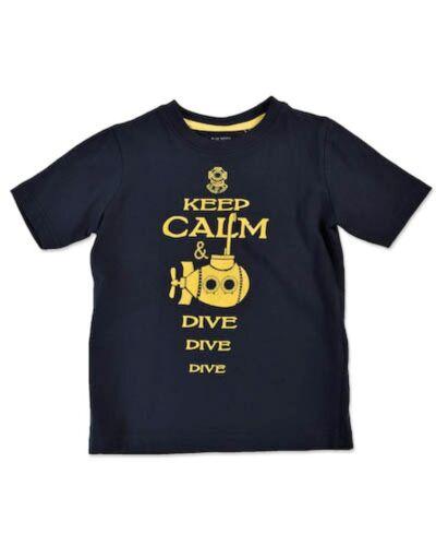 Blue Seven neu Shirt T-Shirt U-Boot dunkelblau Gr 92 98 104 110 116 122 128