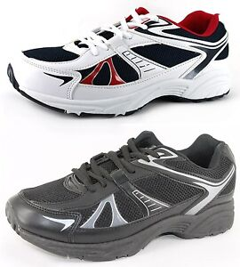 NEW-MENS-TRAINERS-TRAINING-SHOES-BLACK-WHITE-LACE-UPS-SIZE-UK-6-13-EU-39-48-5