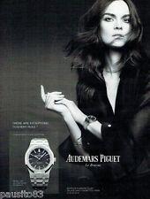 PUBLICITE ADVERTISING  116  2013 Audemars Piquet montre le Brassus Anouck Lapère