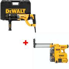 Dewalt D25263k 1 18 D Handle Sds Rotary Hammer With Free Dust Extractor